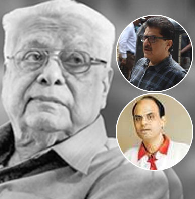 Basu Chatterjee Funeral: Ashoke Pandit and Sandiip Sikcand come in for the final rites of the ace filmmaker