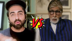 Ayushmann Khurrana gives a thrashing defeat to Amitabh Bachchan in the 'Gulabo Sitabo' tongue twister challenge