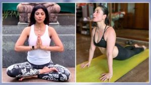 International Yoga Day 2020 Bollywood celebs