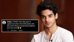 Ishaan Khatter blasts a troll who slammed him for supporting #BlackOutTuesday; says,