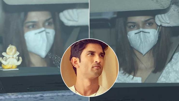Sushant Singh Rajput's Funeral: Ex-GF Kriti Sanon arrives to pay her last respects to her 'Raabta' co-star
