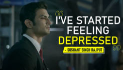 Sushant Singh Rajput: I've started feeling DEPRESSED - watch video