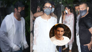 Sushant Singh Rajput's Funeral: Shraddha Kapoor, Varun Sharma and other B-Townies offer their last respects
