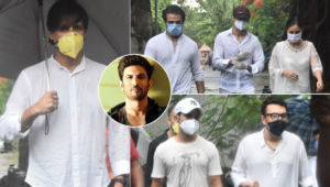 Sushant Singh Rajput's Funeral: Rajkummar Rao, Dinesh Vijan, Vivek Oberoi and others pay their last respects
