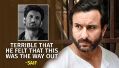 Saif Ali Khan on Sushant Singh Rajput's suicide: Terrible that he felt that this was the way out