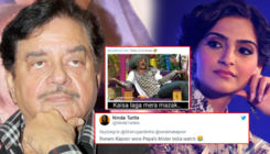 Shatrughan Sinha gets brutally trolled for missing out Sonam Kapoor in his birthday tweet for her