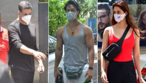 In Pics: Akshay Kumar, Tiger Shroff, Disha Patani snapped in the city amid lockdown