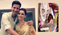 Ekta Kaul shares first glimpse of her newborn son Ved with his 'No. 1 dad' Sumeet Vyas