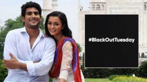 Prateik Babbar Amy Jackson Black Out Tuesday