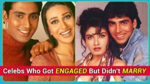 Akshay Kumar-Raveena Tandon to Abhishek Bachchan-Karisma Kapoor - Celebs who got engaged but didn't marry