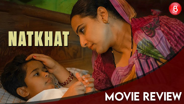 'Natkhat' Movie Review: Vidya Balan's unique re-telling of a bedtime story with the twist of domestic violence and the spice of patriarchy