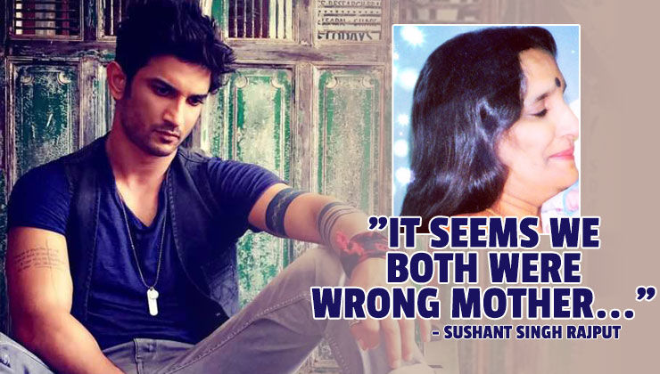 When Sushant Singh Rajput penned a heart wrenching poem for his mother; spoke about each other's broken promises