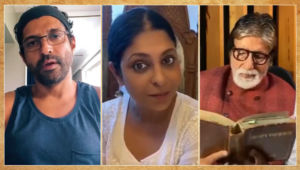 Amitabh Bachchan to Shefali Shah to Farhan Akhtar: Bollywood actors who delved into wordplay during the lockdown