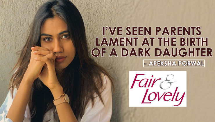 'Undekhi' actress Apeksha Porwal bursts out about the ongoing Fair & Lovely controversy