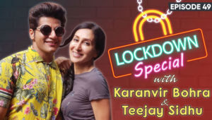 Karanvir Bohra & Teejay Sidhu's LOVED UP Chat About Spending Quality Time During The Lockdown