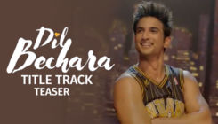 'Dil Bechara' Title Track Teaser: Sushant Singh Rajput's one-take last dance performance should be memorable