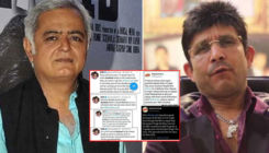 Hansal Mehta shares screenshots of KRK's distasteful remarks on Sushant Singh Rajput; asks Mumbai Police to investigate him