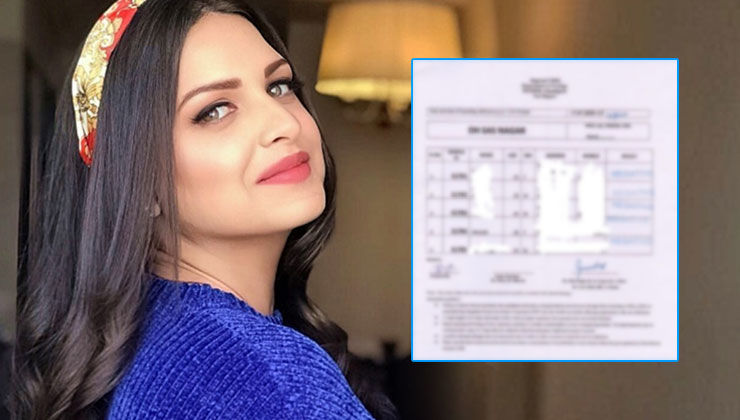 Himanshi Khurana reveals her Covid-19 test report; check it out