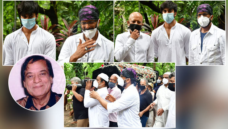 Jagdeep's Funeral: Veteran actor laid to rest by sons Jaaved-Naved and grandson Meezaan
