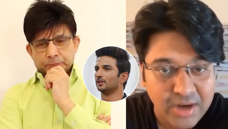 Milap Zaveri slams KRK for showing his two-faced slimy side while talking of Sushant Singh Rajput | Bollywood Bubble
