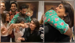 Inside Neetu Kapoor's birthday party: Ranbir Kapoor gives mom a tight hug; Karan Johar joins the party