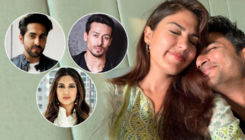 Ayushmann Khurrana, Tiger Shroff, Bhumi Pednekar shower love on Rhea's heartfelt post for Sushant Singh Rajput