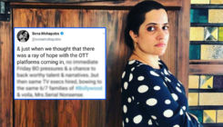 Sona Mohapatra slams OTT platforms for bowing down to a few families of Bollywood