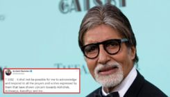 Amitabh Bachchan expresses gratitude for the 'prayers and wishes' of his fans in a heartfelt post