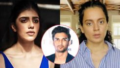 Sanjana Sanghi finally reacts to Kangana Ranaut's accusations of responding late to #MeToo allegations on Sushant Singh Rajput