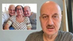Anupam Kher's mother, brother and other family members test positive for Covid-19- watch video