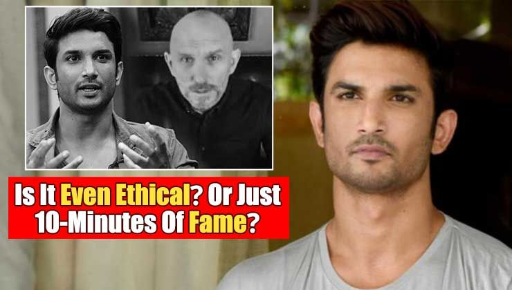 Aren't the videos of Sushant Singh Rajput's spirit talking to paranormal expert Steve Huff just the epitome of grabbing 10-minutes of fame?