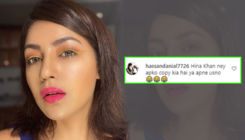 Debina Bonnerjee gives a befitting reply to a troll who mocked her for following Hina Khan's style