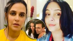Neha Dhupia REACTS to accusation of doing Karan Johar's 'chamchagiri' by Suchitra Krishnamoorthi