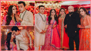 Nidhi Dutta and beau Binoy Gandhi exchange rings; check out pics of their dazzling engagement ceremony