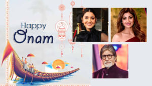 Happy Onam Bollywood celebs 2020