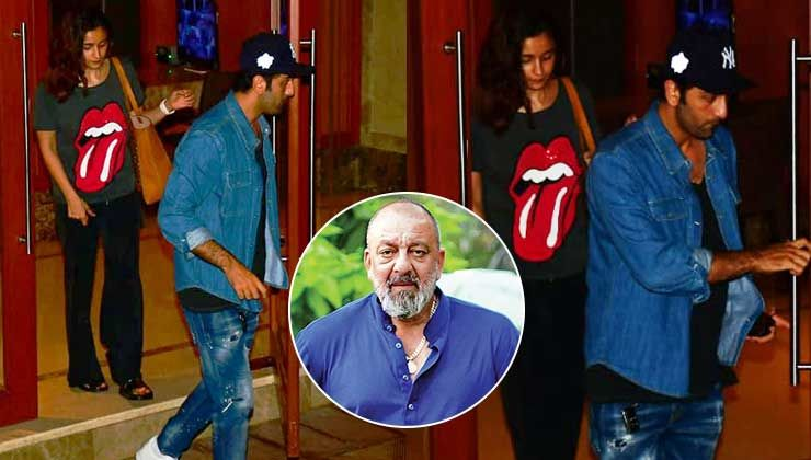 After cancer diagnosis, Sanjay Dutt gets visited by Ranbir Kapoor and Alia Bhatt - view pics