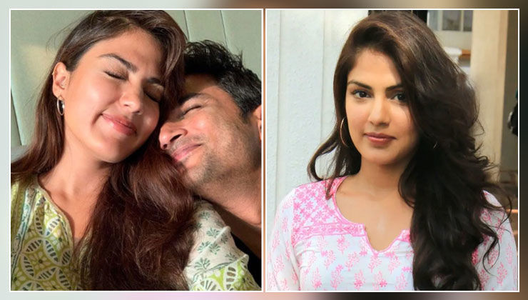 Say What! Rhea Chakraborty opted out of two films because of Sushant Singh Rajput?