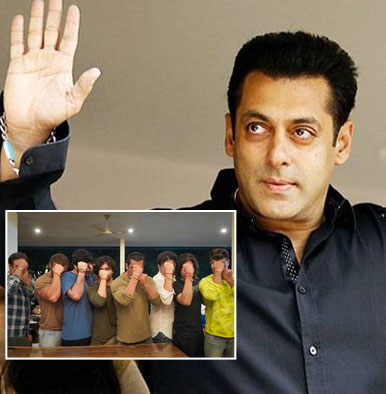 Salman Khan takes the internet by storm by striking a pose with his bros on Raksha Bandhan
