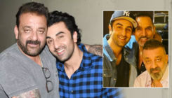 Ranbir Kapoor's picture with Sanjay Dutt post lung cancer diagnosis goes viral