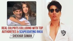 Shekhar Suman claims Rhea Chakraborty is being made a scapegoat in Sushant Singh Rajput's death case