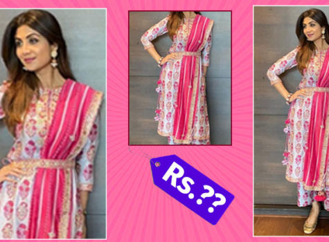 Loved Shilpa Shetty's kurta set? You need to spend THIS much amount to get it