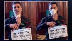 Akshay Kumar and team resume shooting for 'Bell Bottom'- watch video
