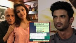 Rhea Chakraborty messaged Mahesh Bhatt after she left Sushant Singh Rajput's home, wrote,
