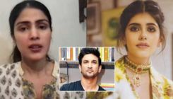 Sanjana Sanghi reacts to Rhea Chakraborty's accusation on the late clarification of #MeToo allegations against Sushant Singh Rajput
