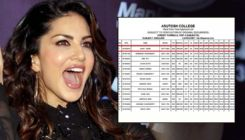 Sunny Leone tops her class with a perfect score; says,