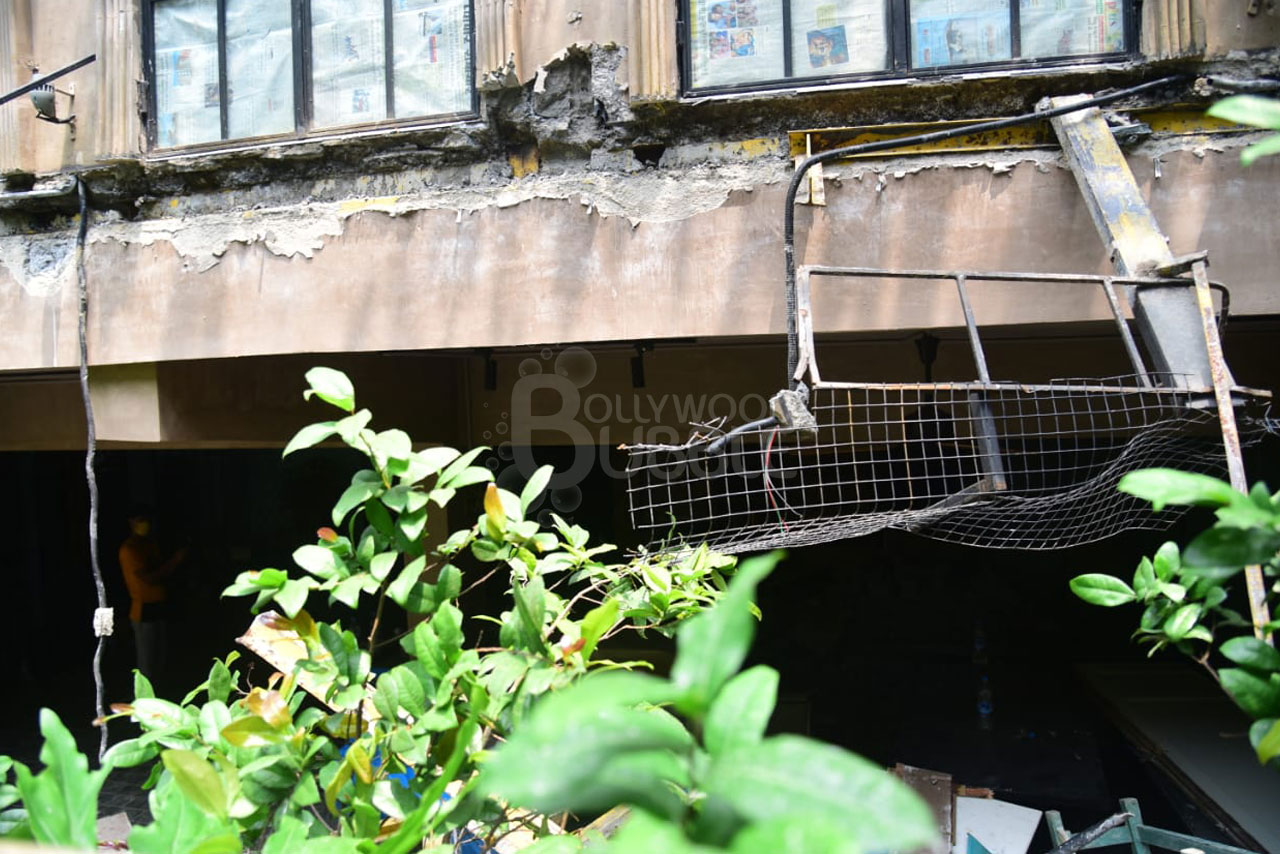 BMC claims illegal structures at her office