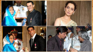Bollywood Padma Shri