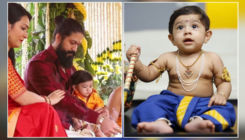 'KGF' star Yash and wife Radhika Pandit finally reveal their son's name- watch video