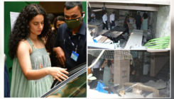 Kangana Ranaut visits her Mumbai office which was partially demolished by BMC- view pics