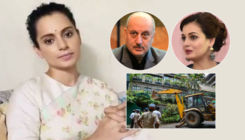 Kangana Ranaut's office demolished by BMC; Dia Mirza, Anupam Kher and other B-Townies call it the 'death of democracy'